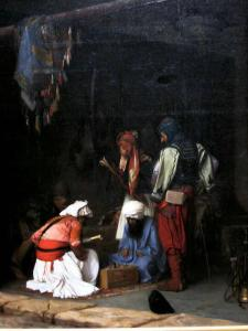 Shqiptaret ne Egjipt. Jean-Lèon Jeromme