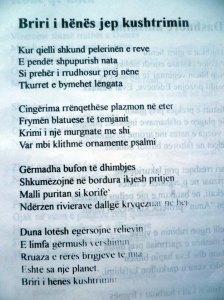 ALBERT VATAJ _ POEZI BRIRI I HENES JEP KUSHTRIMIN