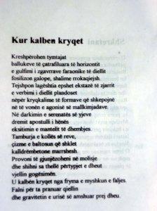 ALBERT VATAJ _ POEZI-KUR KALBEN KRYQET