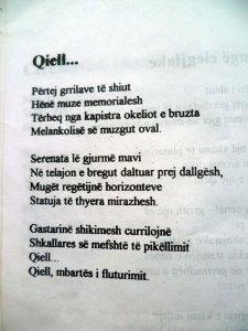 ALBERT VATAJ _ POEZI QIELL